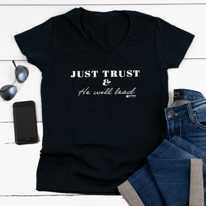 Just Trust V-Neck T-Shirt [product_type]