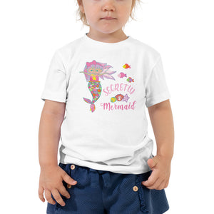 Secretly A Mermaid T-Shirt (Toddler Sizes) [product_type]
