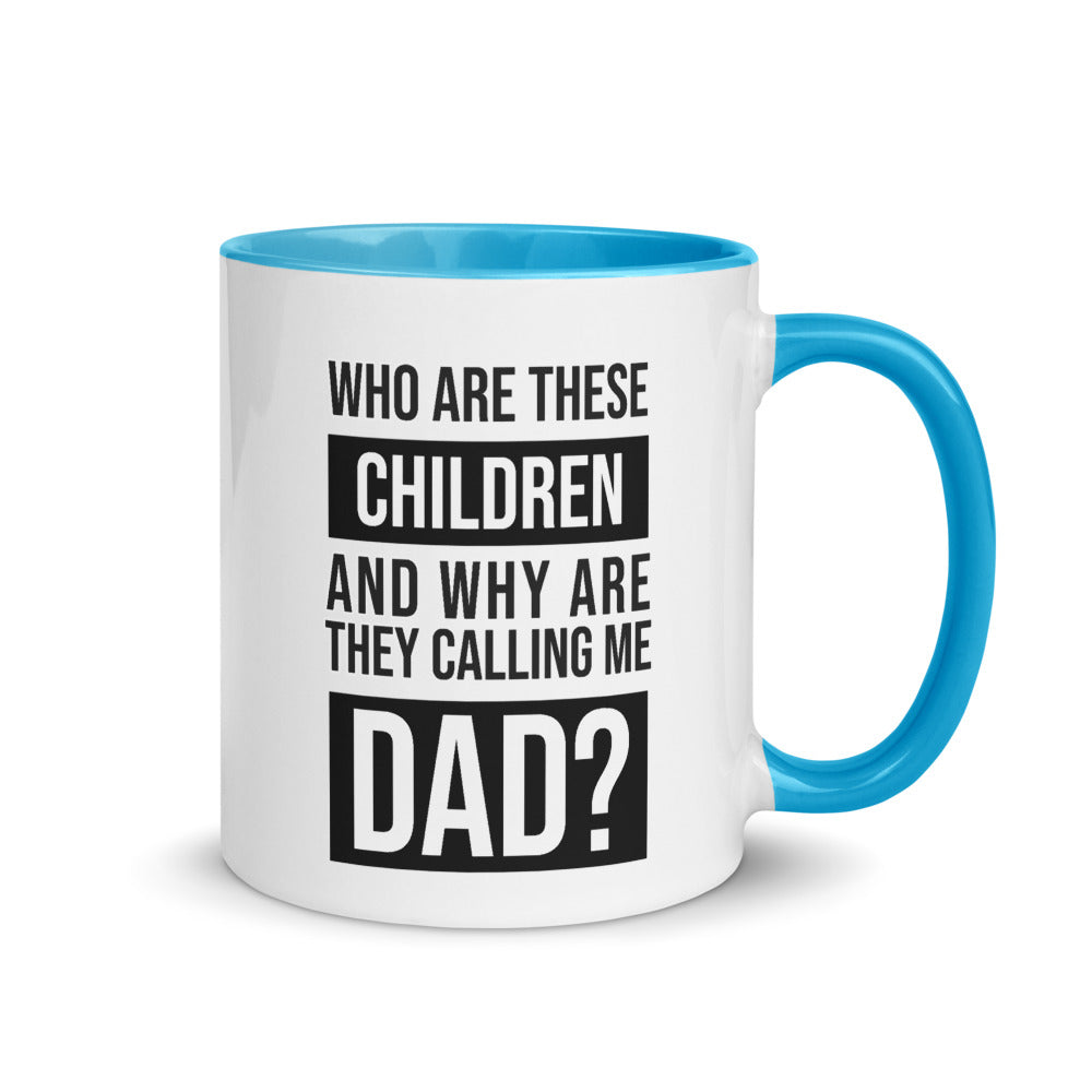 Who Are These Children? Mug 11oz