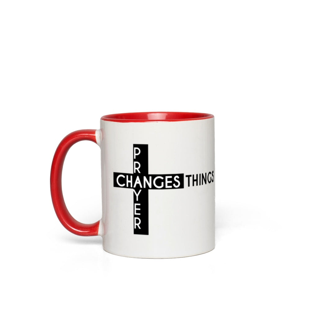 Prayer Changes Things Mugs [product_type]