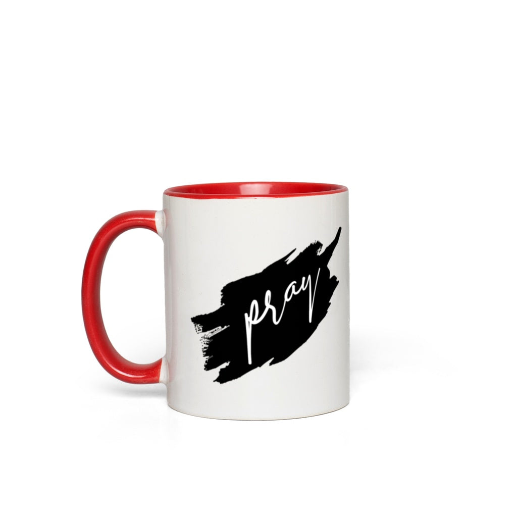 Pray Color Accent Mugs [product_type]