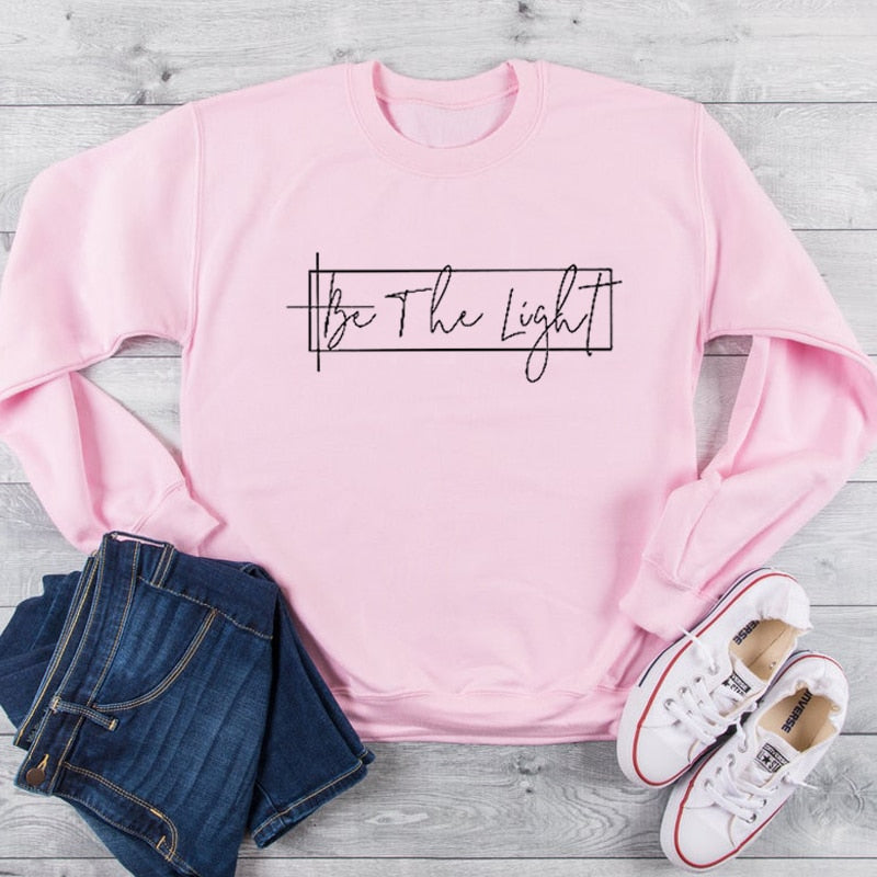 Be The Light Long Sleeve Sweater