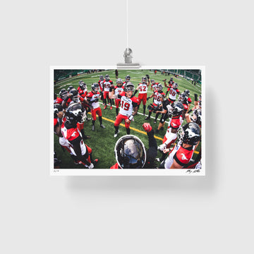 Calgary Stampeders - The Breakdown (signed+numbered)