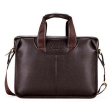 Load image into Gallery viewer, VICUNA POLO Large Size Men Leather Briefcases