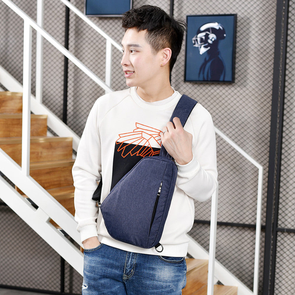 Men's Fashion Crossbody Bag Outdoor Multifunction Casual Chest Bag