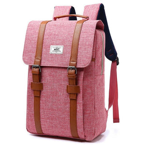 Unisex Canvas Backpacks for Teenagers