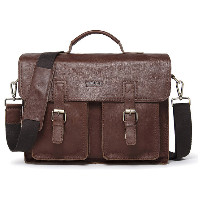CONTACT'S 13.3 inch laptop male shoulder bag