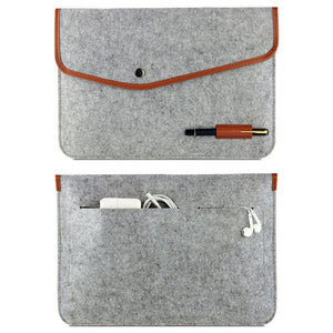 High Quality Notebook Laptop Wool Felt Sleeve Bag