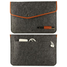 Load image into Gallery viewer, High Quality Notebook Laptop Wool Felt Sleeve Bag