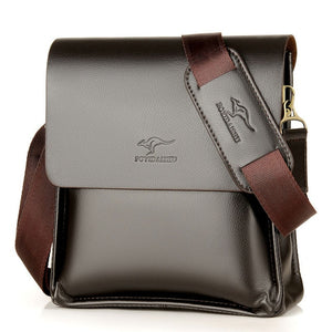 kangaroo Crossbody pu Leather Messenger Handbag/Shoulder Bag