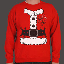 Load image into Gallery viewer, Santa Costume Sweater (Mens)