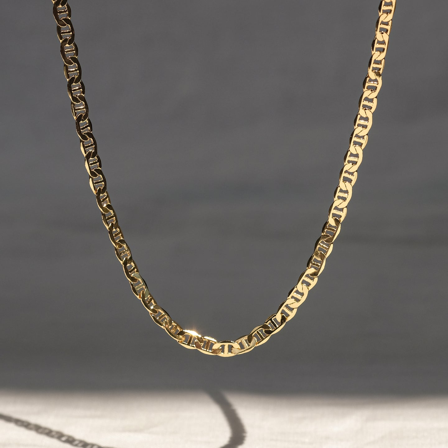 Alfio Necklace (18K Gold Brass)