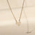 Arush 14K Gold Vermeil CZ Necklace