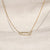 Chino 18K Gold Vermeil CZ Necklace