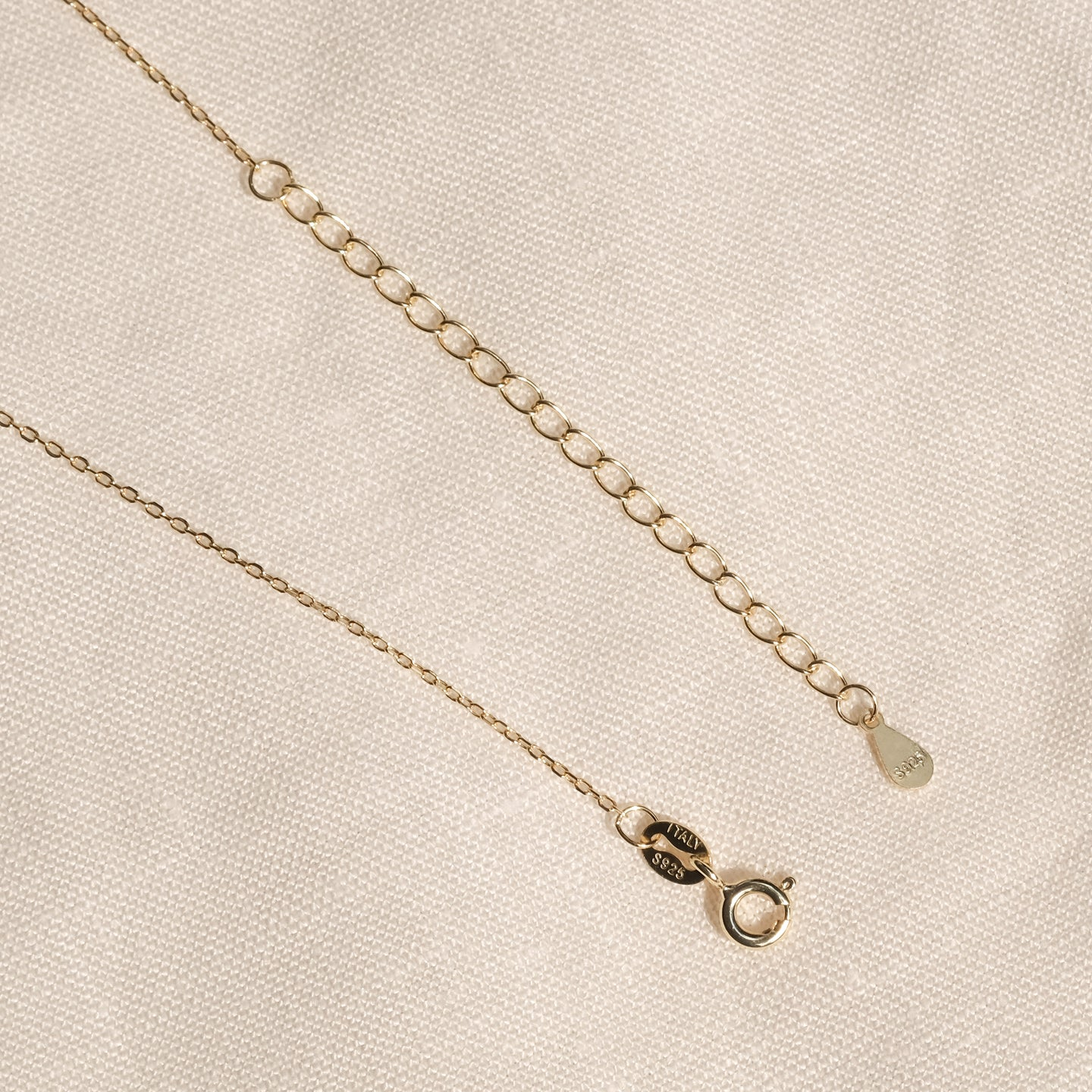 Eli CZ Necklace (Gold)
