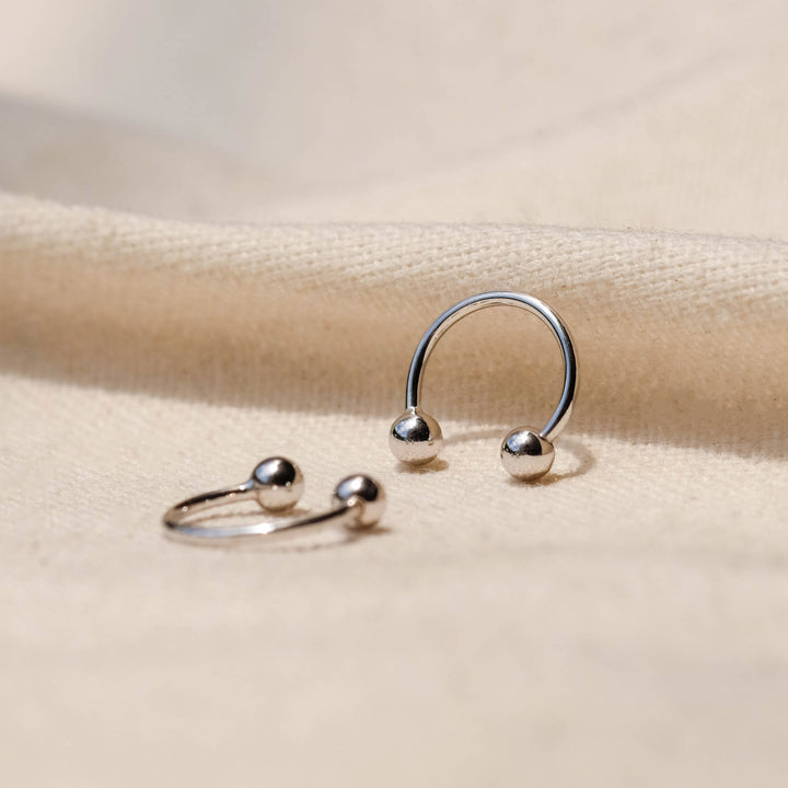 Lanka 925 Sterling Silver Earrings