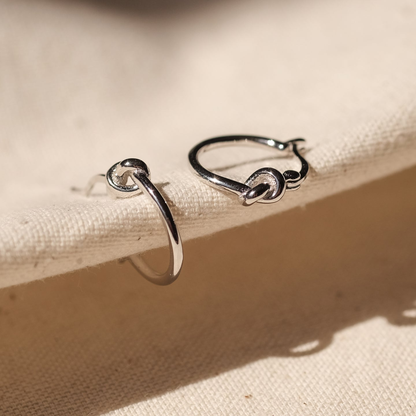 Lotty Hoops (925 Sterling Silver)