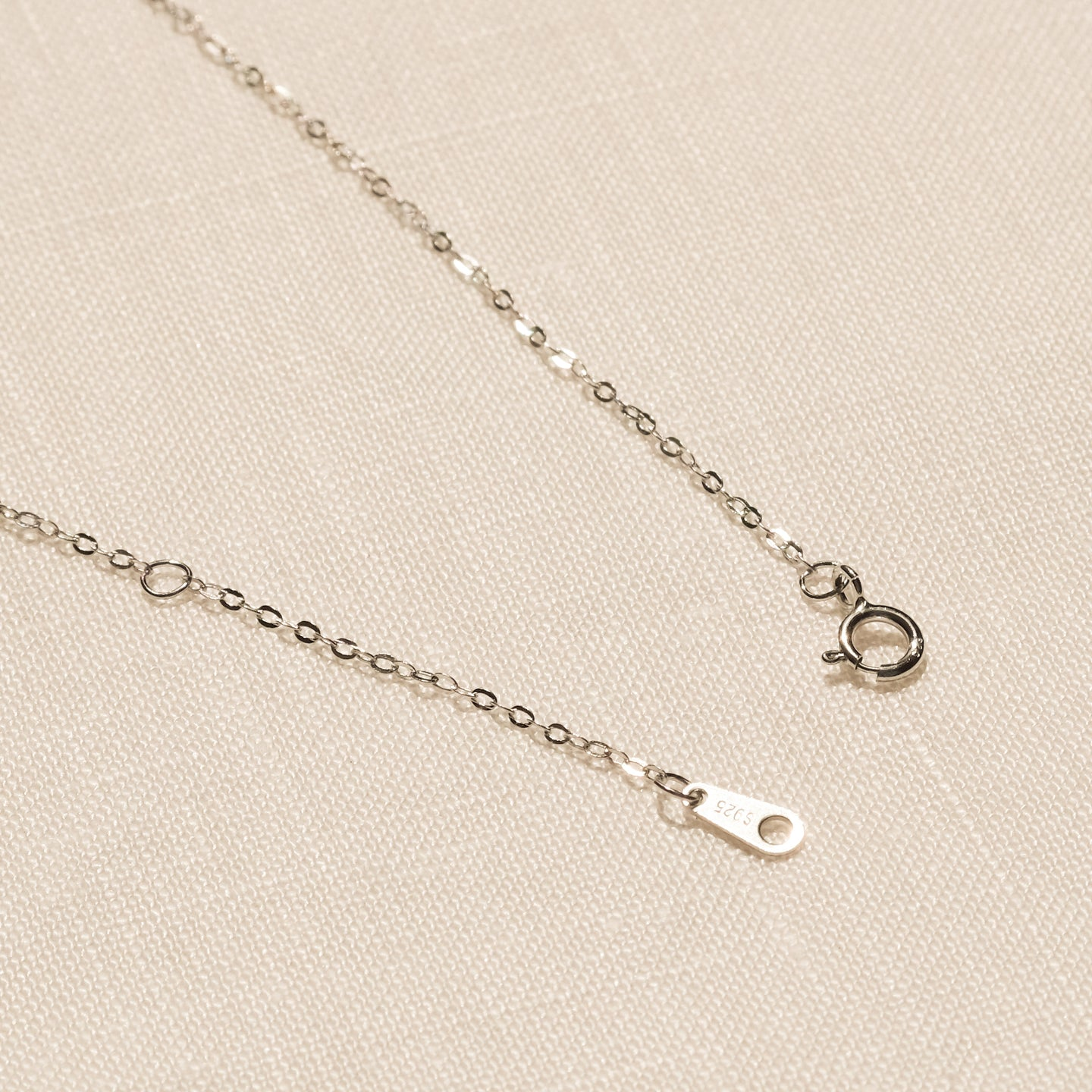 Lucas CZ Necklace (925 Sterling Silver)