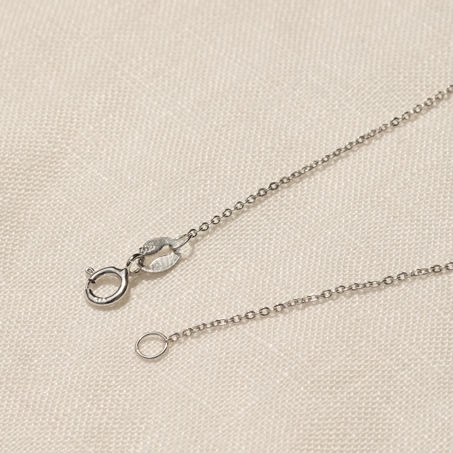 Pablo CZ Necklace (925 Sterling Silver)
