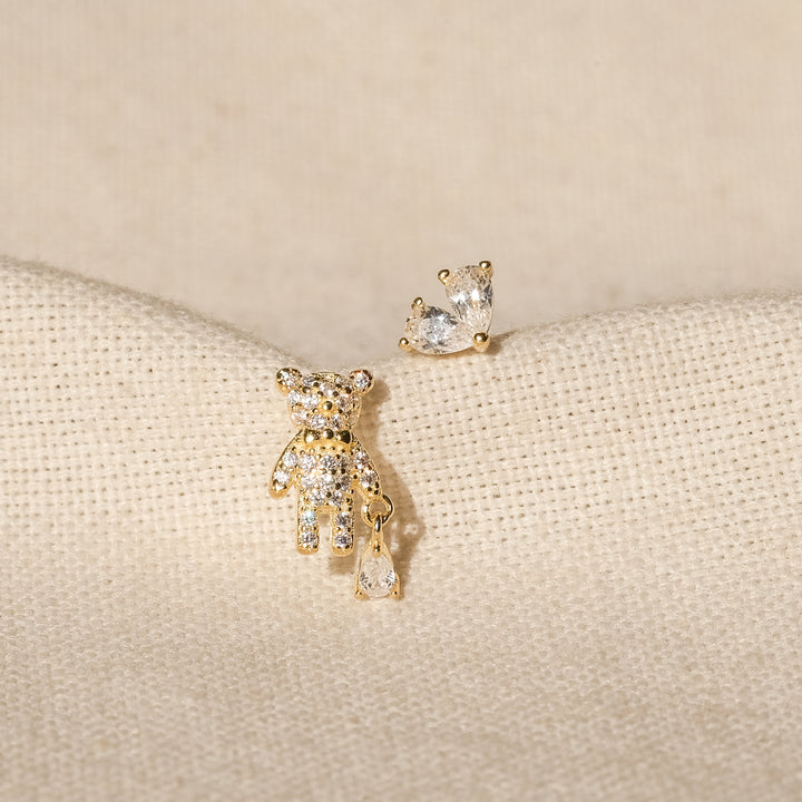 Wina 18K Gold Vermeil CZ Earrings