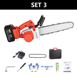 HILDA Electric saw Cordless Chain saw Electric-Power-Tool Chains accumulator saws For Household Wood-Cutter