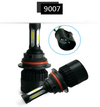 LED H4 H7 H11 H8 H9 H1 H3 H13 9005 HB3 9006 HB4 9007 Car LED Headlight 72W 8000LM Auto light Fog Lamp Bulb 6500k Pure White