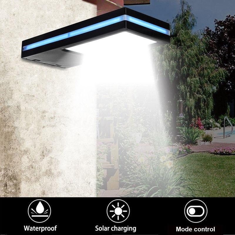 144 LED Solar Power Motion Sensor Garden Security Lamp Outdoor Waterproof Light Portico Lamp Garden Lights