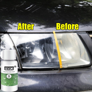 20ml, 50ml HGKJ-8 Car Headlight Restoration Kit Auto Headlight Repair Refurbishment Agent Fluid Car Polishing Car Care