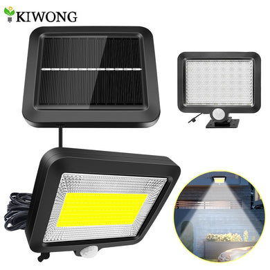56/100 LED Solar Light PIR Motion Sensor Detection Wall Lamp Energy-saving Solar Lamp Waterproof Outdoor Indoor Lighting