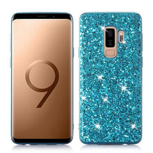Phone Case for Samsung Galaxy S9 Plus Case Silicon Bling Glitter Crystal Sequins Soft TPU Cover Fundas for Samsung S9 Plus S9