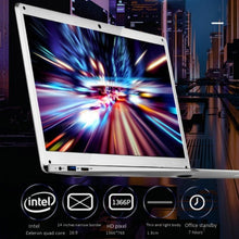 14.1 inch Hd Lightweight&Ultra-Thin 2+32G Lapbook Laptop  Z8350 64-Bit Quad Core 1.92Ghz Windows 10 2Mp Camera(White)Us Plu