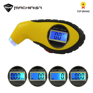 Auto Car Gauge Tester Diagnostic tool for Driving Safety tire pressure gauge Meter Manometer Barometers Tester Digital LCD Tyre