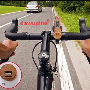 Bicycle Speaker MP3 Player USB TF Card Reader Slot Ride Audio Bluetooth Sport Speaker li-ion Battery FM Radio LED Flashlight