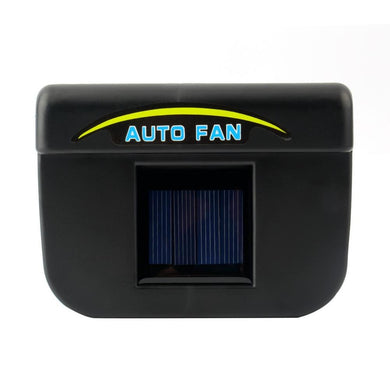 car ventilation fan Solar Sun Power Car Window Fan Auto Ventilator Cooler Air Vehicle Radiator vent With Rubber Stripping*