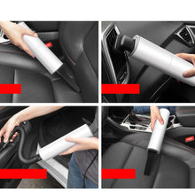 Mini 120W Suction Portable Vacuum Cleaner For Car Low Noise Handheld Car Vacuum For Car Home Computer Cleaning