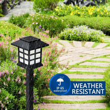 2pcs/Lot Solar Lantern Lawn Lamps Outdoor Garden Solar Spotlight Pathway Landscape Retro Solar Underground light
