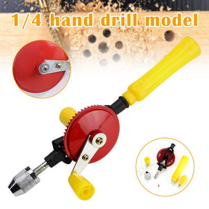 Hand Drill Woodworking Carpenters Workshop Home Hand Tool UD88