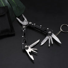 Multifunction Stainless Steel Multi-tool Pocket Knife Pliers Folding Pliers Mini Portable Folding Pliers T4025