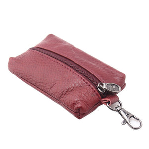 handmade vintage key wallet Genuine leather Unisex Key Case High-Quality new fashion man key bag housekeeper woman key holder