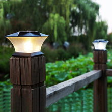 Led Solar Light Post Cap Fence Bright Outdoor Motion Solar Wall Lamp For Garden Villa Decoration Lantern Garden Lights