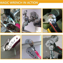 9-45mm Adjustable Universal Wrench Spanner Tool Home Hand Tool Ratchet Key Set Wrench Multi-functional Universal Spanner