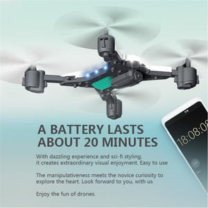 RC Helicopter Drone with Camera HD 1080P WIFI FPV RC Drone Professional Foldable Quadcopter 20 Minutes Battery