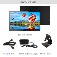 UPERFECT Portable Monitor Display 4K 15.6-inch IPS Gaming Monitor Screen USB-C for Laptop Computer Mac Phone HDMI Device Xbox
