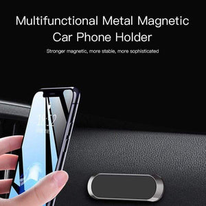 Mini Magnetic Car Mount Phone Holder sticker Mobile Phone Stand Mount for iPhone 11 XS X Samsung S10+ Xiaomi Huawei