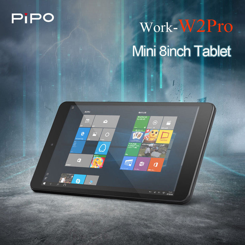 Original Pipo W2PRO Tablets PC 8'' Full HD IPS Screen Windows 10 Intel Cherry Trail Z8350 Quad Core 2GB+32GB Dual Cam Tablets