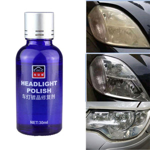 Professional 30ml 9H Hardness Car Auto Liquid Scratches Oxidation Polishing Coat Headlight Renovation Coating Repair Agent Set