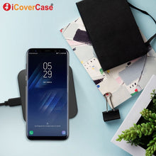 Qi Wireless Charger For Samsung Galaxy J3 J7 J8 2018 Case Power Bank Charge Dock Charging Receiver Chargeur Phone Accessories
