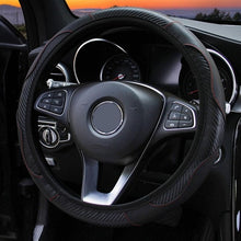 5 COLORS Car Steering Wheel Cover PU Leather Breathable Steering Covers Suitable 37-38cm Auto Products Car Accessories