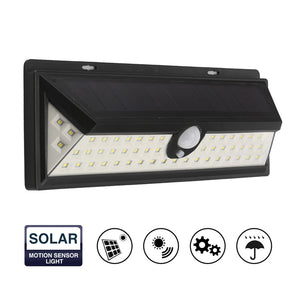 LemonBest Waterproof 54 LED Solar Light 2835 SMD White Solar Outdoor Lighting.