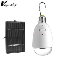Solar Power  Super Bright Emergency LED  Light Bulb Rechargeable Lamp with  Remote Control.